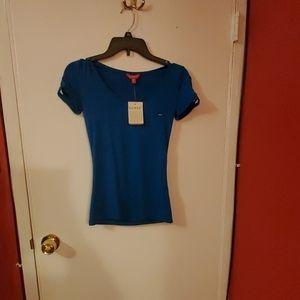Turquoise short sleeve